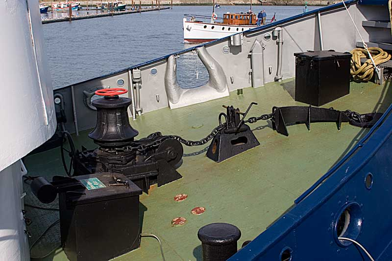 Baltic Warrior Foredeck