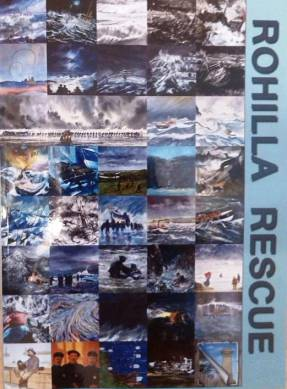 RNLI Rohilla Paintings